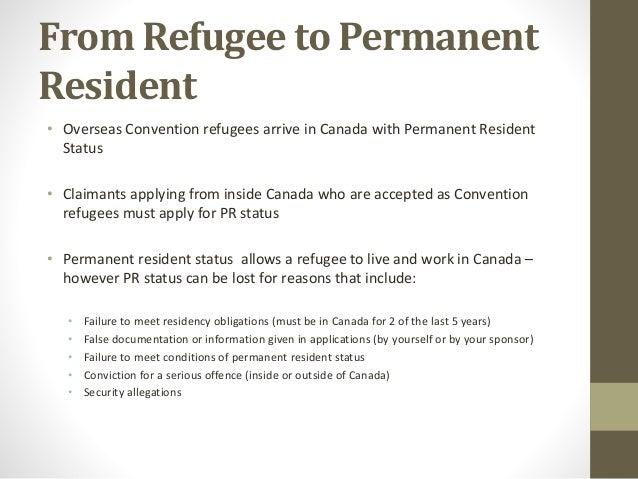 canada permanent resident application status