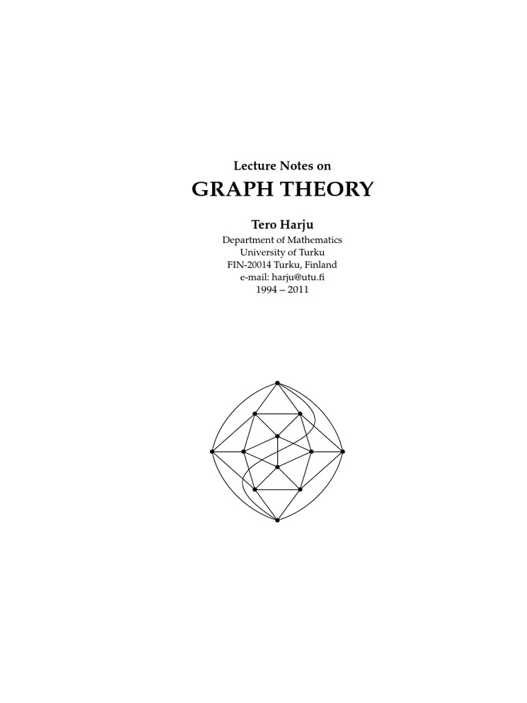 graph theory with applications bondy murty solution manual pdf