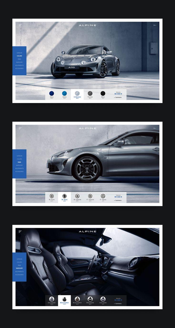 web application ui design inspiration