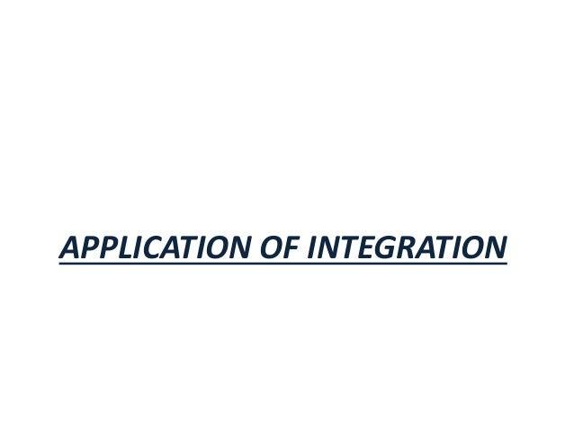 application of integral calculus in economics