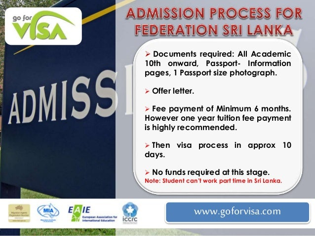 australian visa application from sri lanka