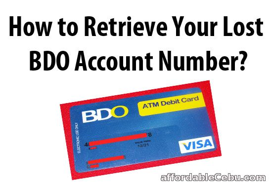 bdo online credit card application philippines