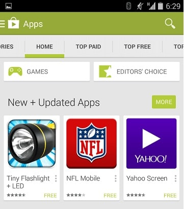 google play store application for android free download