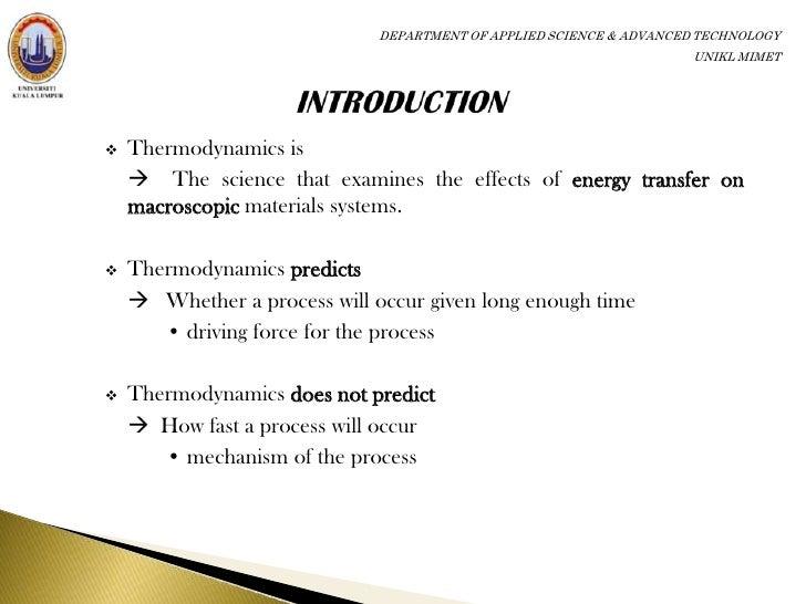application of thermodynamics in refrigerator