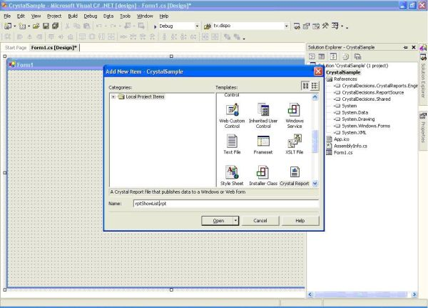 windows form application in c# projects download