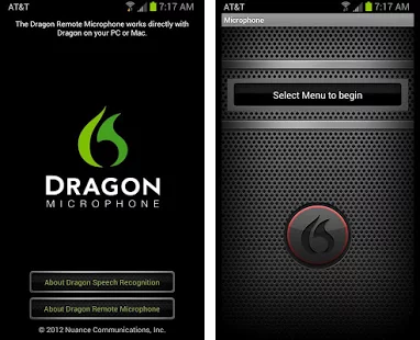 dragon remote microphone application for windows
