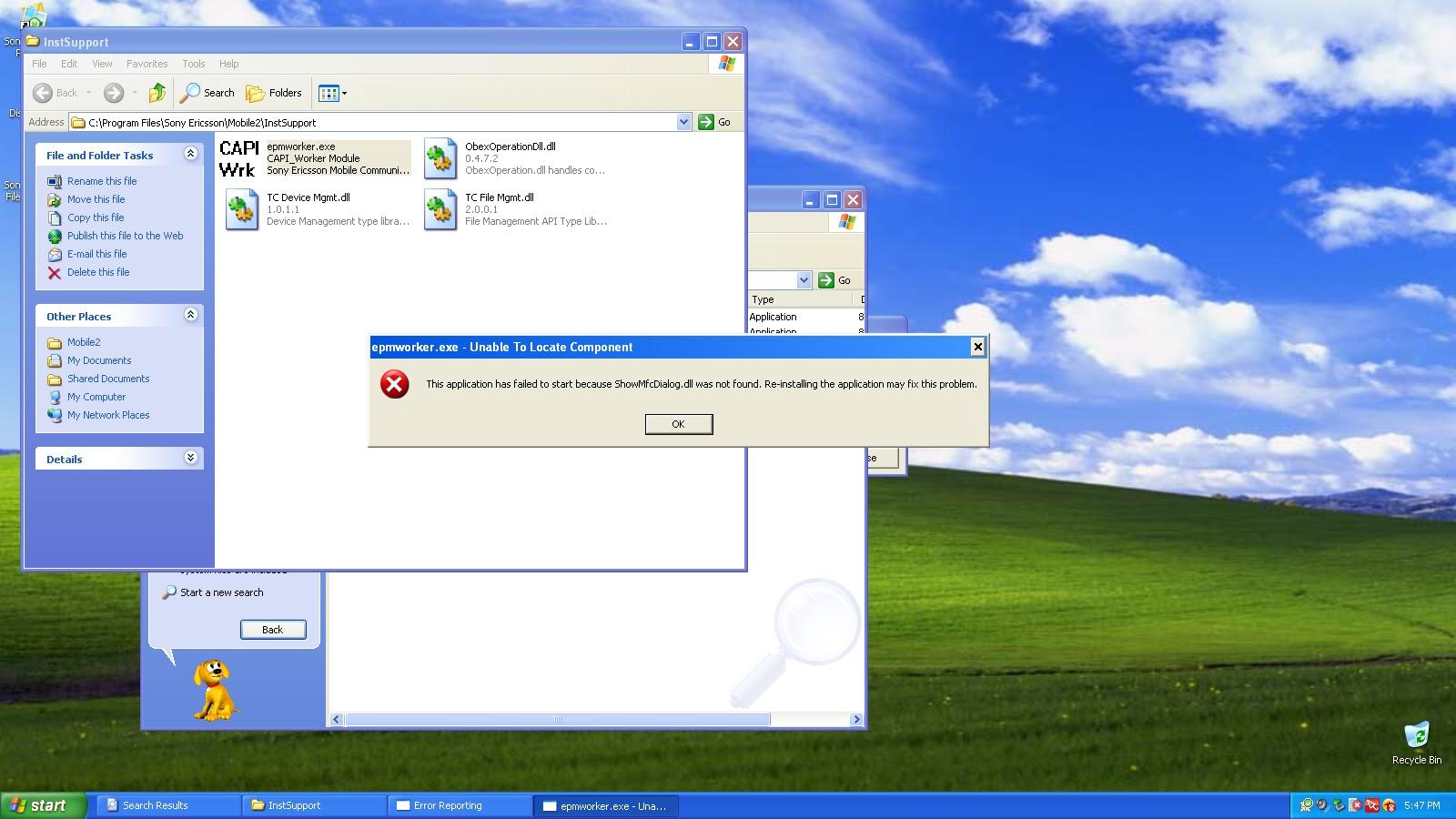 explorer exe application error the memory could not be written