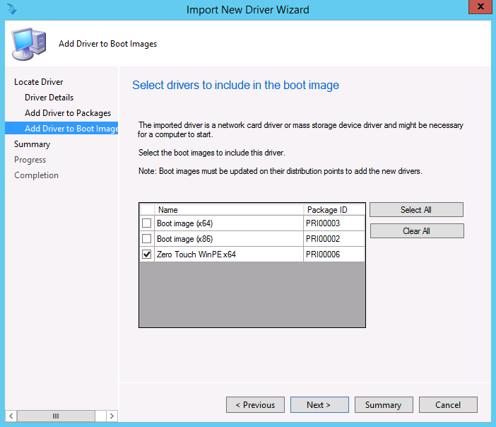 add an application to a windows pe image