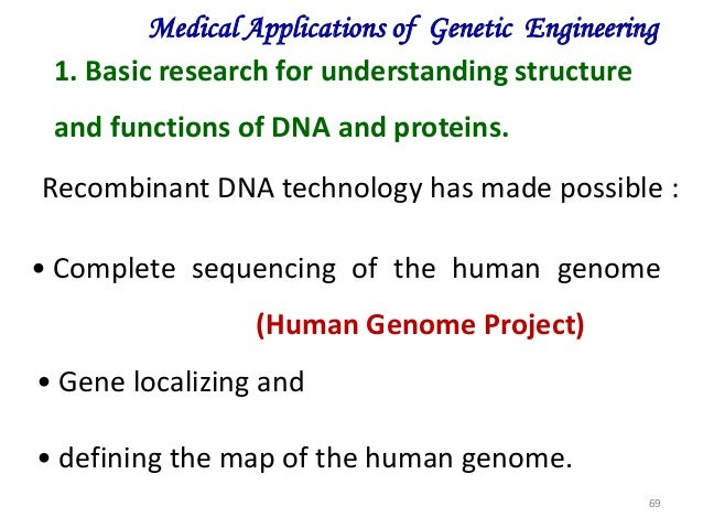 practical applications of dna technology