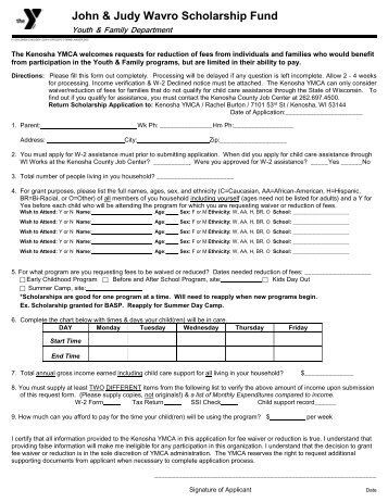 application for waiver of court fees and costs