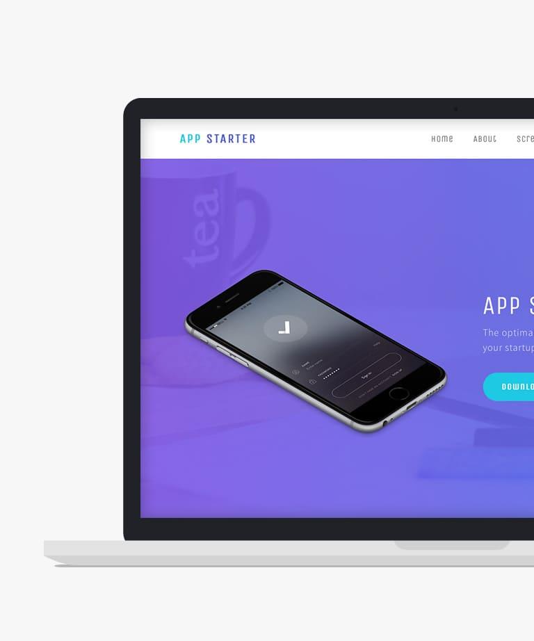 free responsive web application templates