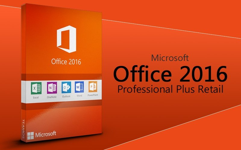 office professional plus 2016 applications