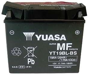 yuasa motorcycle battery application chart