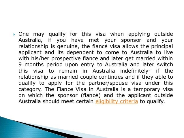 fiance visa application form australia