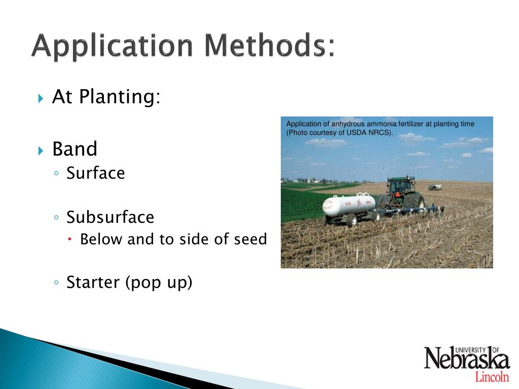 how to use pre seed applicator