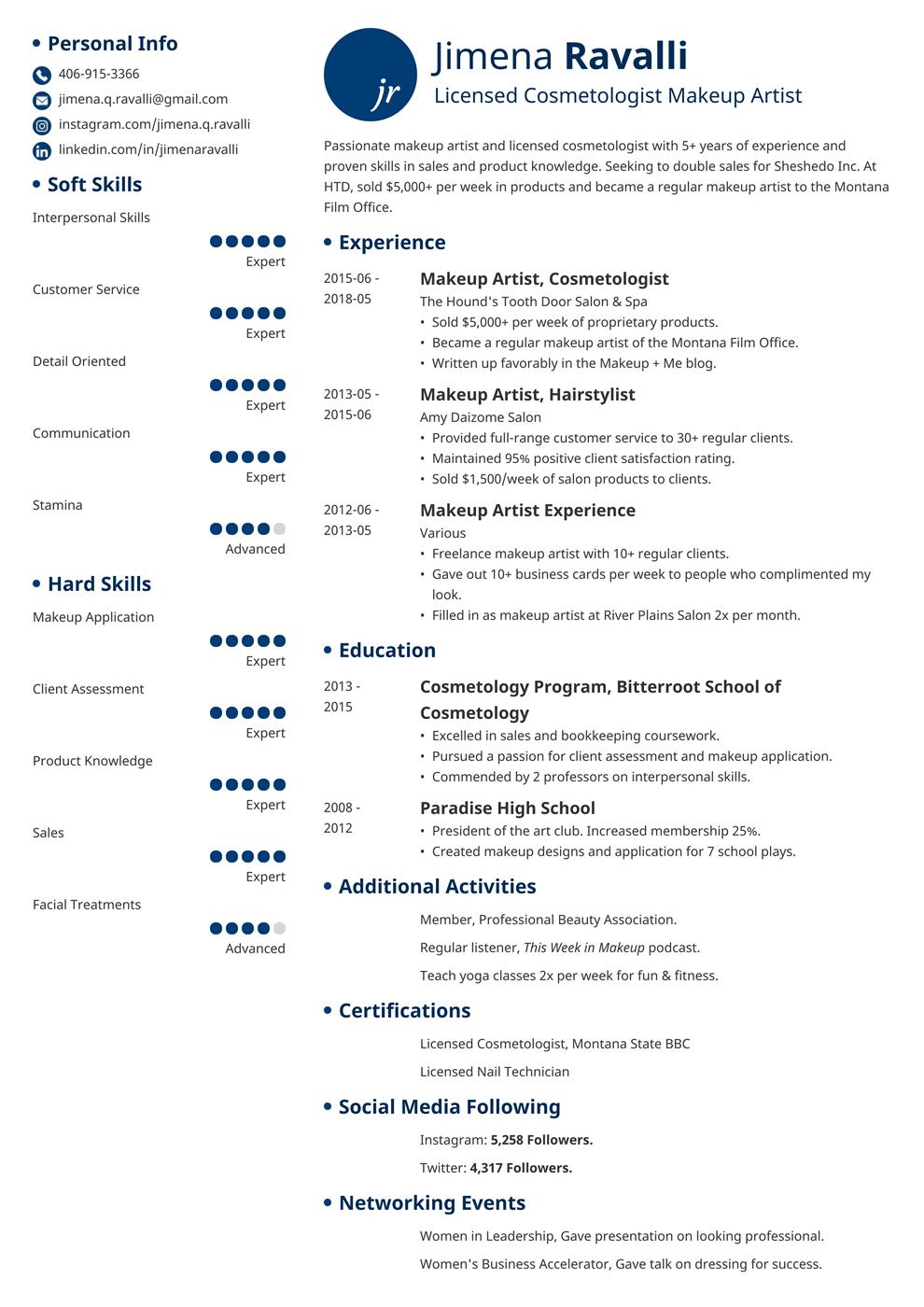 mac cosmetics job application pdf