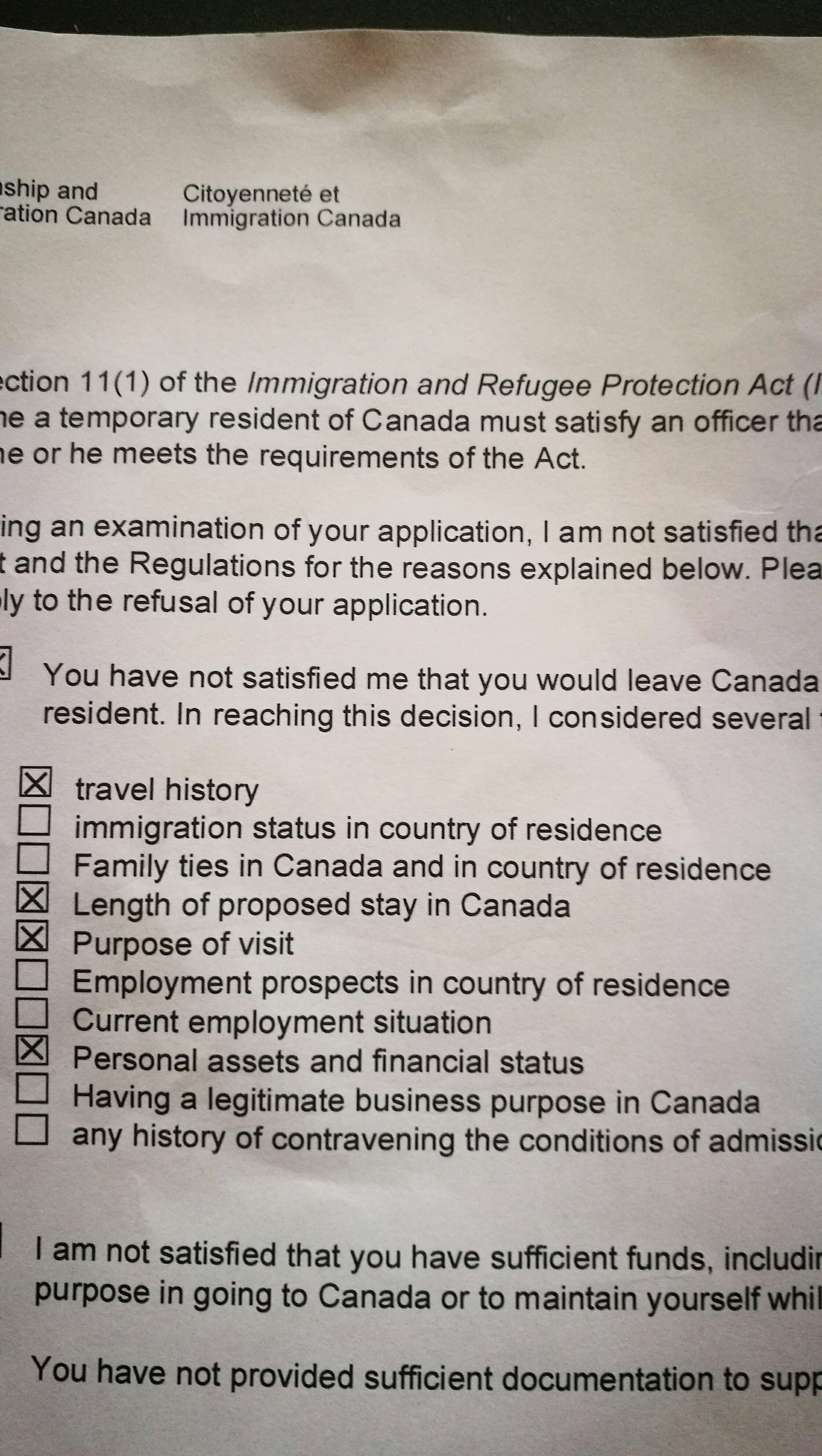 track my visa application canada