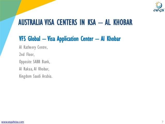 vfs australia visa application centre